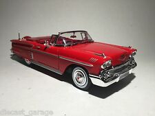 1958 CHEVROLET IMPALA 1:24 chev model car toy car diecast car V8 die-cast