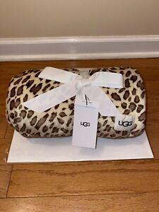 "Genuine UGG Australia Duffield Throw O, Leopard, 50"" x 70"""
