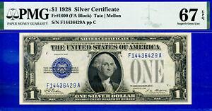 TOP POP FR-1600 - 1928 S/C (( FINEST Known - FA Block )) PMG 67EPQ - F14436429A-