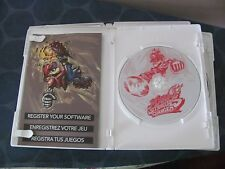 Mario Strikers Charged (Nintendo Wii, 2007) complete book case TESTED