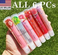 Starry Sweet Kissing Lips Lip Gloss Set - All 6 PCs! Smooth Watering Gloss
