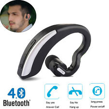 Bluetooth Stereo Headphone Earpiece For Samsung S8 S7 LG G5 Mini G4 iPhone X 7