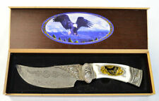 Frost Cutlery Ornamental Eagle Fix Blade Knife & Case (2454)