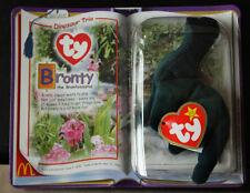 Ty Teenie Beanie Baby Bronty The Brontosaurus McDonalds Dinosaur 2000 Retired