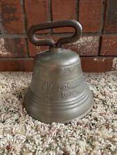 Antique Chantel Fondeur Cow Bell 1878