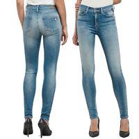 REPLAY jeans pantaloni da donna taglia W26 JOI skinny super stretch vita alta