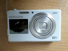 Samsung DualView DV150F 16.2MP Digital Camera - White