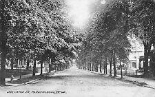 Parkersburg West Virginia Juliana Street General Scene Vintage Postcard V21093