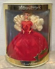 1995 Leo India Happy Holidays Barbie doll NRFB Holiday Version of Purple Passion