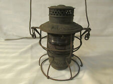 ANTIQUE 1922 ADAMS WESTLAKE PENNSYLVANIA RAILROAD LANTERN DISPLAY MONOPOLY KERO