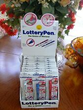 30 LOTTERY PENS with DISPLAY box  FLEA MARKETS - STREET FAIRS - STORES