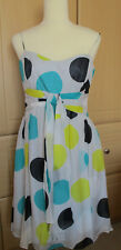 Coast Annetta Silk Spot Dress, Size 14, RRP £125