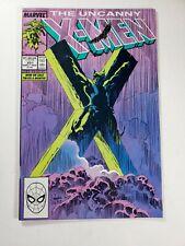 Uncanny X-Men # 251 Classic Wolverine Crucifixion Cover. High Grade Copy
