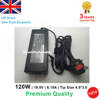Laptop AC Power Adapter Charger For HP Envy 15 17 19.5V 6.15A 120W Many Models