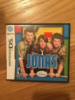 DISNEY JONAS - NINTENDO DS - COMPLETE W/MANUAL - FREE S/H (L)