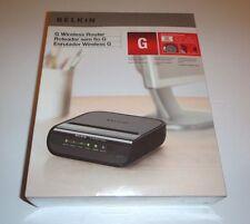 Belkin Wireless G Router 54 Mbps 1-Port 10/100  (F5D7234TT4) - Brand New Sealed