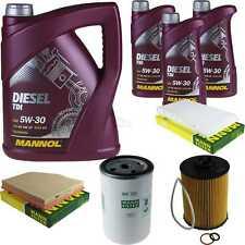 Inspektionspaket 8 L MANNOL Diesel TDI 5W-30 + MANN Filterpaket 10936274