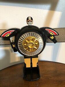 """1996 BanDai 7"""" Deluxe Power Rangers Zeo Warrior Wheel Mega Zord Megazord"""