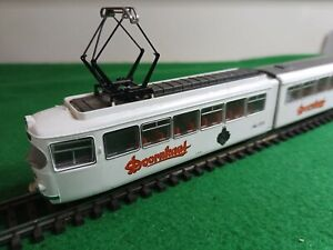 ROCO 43194 Model 6 Axle Articulated Tram 'Dornkaat' of the KVB Pre-loved HO