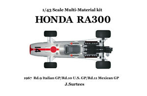 Model Factory Hiro K343 1:43 HONDA RA300 MFH Multi-Material Kit