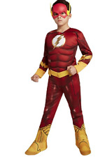 The Flash Child Costume Halloween Jumpsuit Size Large 8-10