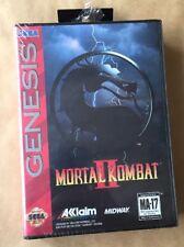 New Mortal Kombat II 2 (Sega Genesis, 1994) Acclaim Factory Sealed