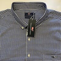 NWT $98 Mens VINEYARD VINES size 3XB Long Sleeve Shirt Classic Tucker