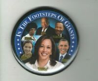 2021 INAUGURATION pin KAMALA Harris pinback OBAMA Shirley CHISHOLM Dr. KING