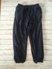 New listing 80s Vintage Outersport Navy Blue Insulated Snow Pants Size Xl Zip Pocket