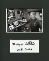 Morgan Wootten National Champion DeMatha Coach HOF Signed Autograph Photo Displa