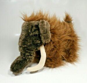 """Woolly Mammoth Doll Retired Build A Bear Workshop 2016 BABW Stuffed Plush 14"""""""