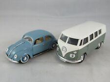 Solido 1:43 VW Volkswagen beetle and combi bus set