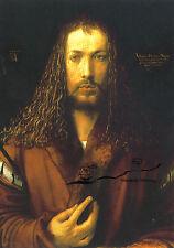 Kunstpostkarte - Albrecht Dürer:  Selbstbildnis im Pelzrock