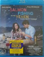 Salmon Fishing in the Yemen (Blu-ray Disc, 2012) Ewan Mcgregor, Emily Blunt