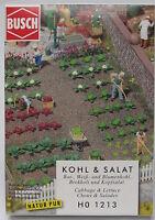 Busch 1213 Kohl und Salat, Bausatz, H0