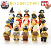 20pcs NEW Minifig Lego Fit People Lot Minifigure City Set Mini Figure Kids Toy
