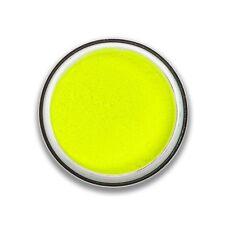 Stargazer UV Glow EyeShadow Loose Powder Neon Eye Dust Colour Luminous - Yellow