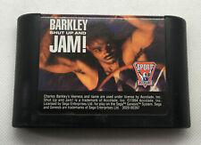 Barkley: Shut Up and Jam! - Basketball - Game Cart - Tested & Works - Genesis