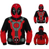 Kids Boys Long Sleeve Hoodie Sweatshirt Hooded Jacket Coat Sweater Outwear Tops