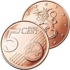 Pièces euro pour 5 cent, année 2001