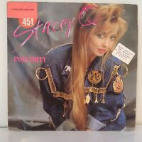 "Stacey Q ‎– Insecurity (Vinyl, 12"", Maxi 45 Tours)"
