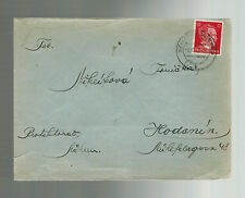 1943 Germany Buchenwald Concentration Camp Cover Miklik Franz to Hodonin KZ