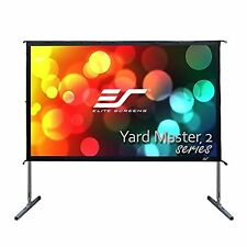 """Screen Movie Projector Outdoor 120"""" 16:9 Ratio Stand Portable High Quality Sturd"""
