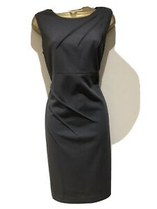 Calvin Klein Grey Dress Size 12 Uk Excellent Condition