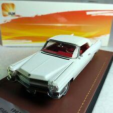 1/43 GLM Cadillac Eldorado Convertible Closed Top 1964 White GLM124604