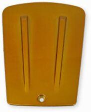 Compartiment de Batterie Carénage Capot / Couvercle Jaune Metallique pour
