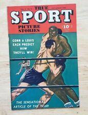 TRUE SPORT PICTURE STORIES VOL.3 #8! RARE PEDIGREE COMIC!! FREE SHIPPING!!!**