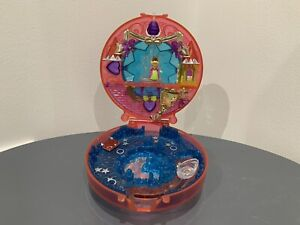 Vintage Polly Pocket Bluebird  Starshine Crystal Palace Compact 1996 With figure