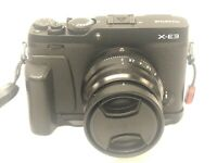 Fujifilm X series X-E3 24.3MP Digital Camera - Black (Kit w/ XF WR 35mm f2 Lens)