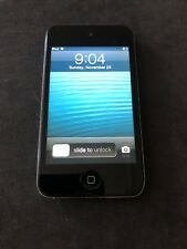Apple iPod Touch 4th Generation 32GB Black Camera Touchscreen Mp3 Player